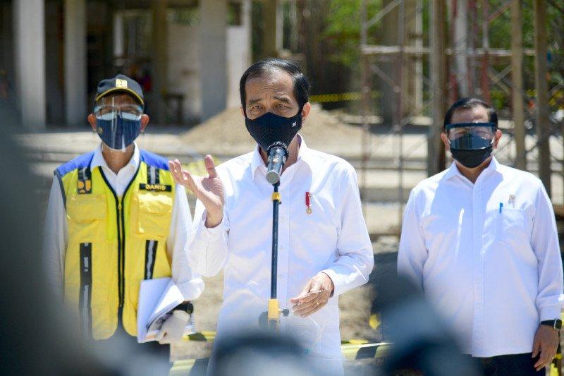 Presiden Jokowi: Semangat usaha jangan sampai kendur