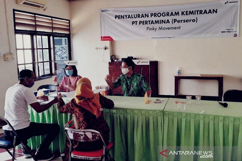 Pertamina salurkan modal kerja 'Pinky Movement' hingga Rp3,1 miliar di Jawa bagian barat