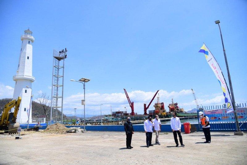 Jokowi tinjau pembangunan infrastruktur wisata di Labuan Bajo