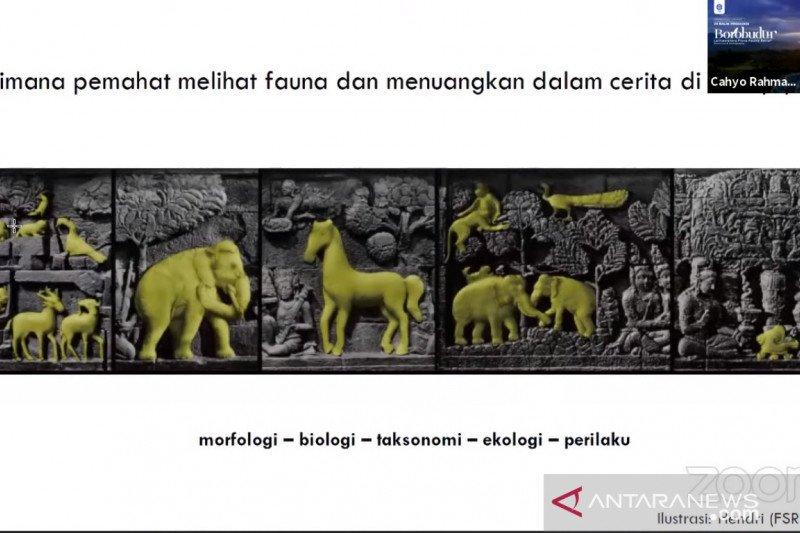 Relief Borobudur bisa menjadi katalog spesies Jawa kuno