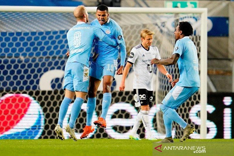 PSV rebut satu tempat di fase grup Liga Europa