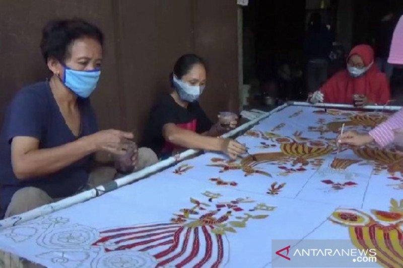 Akibat pandemi, omzet perajin Batik anjlok hingga 80 persen