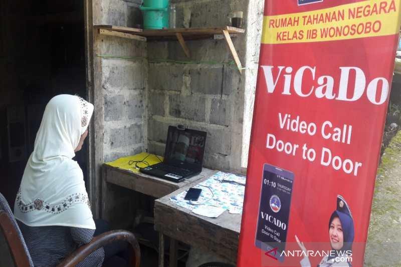"""Rutan Wonosobo fasilitasi """"video call"""" napi dengan keluarga gratis"""