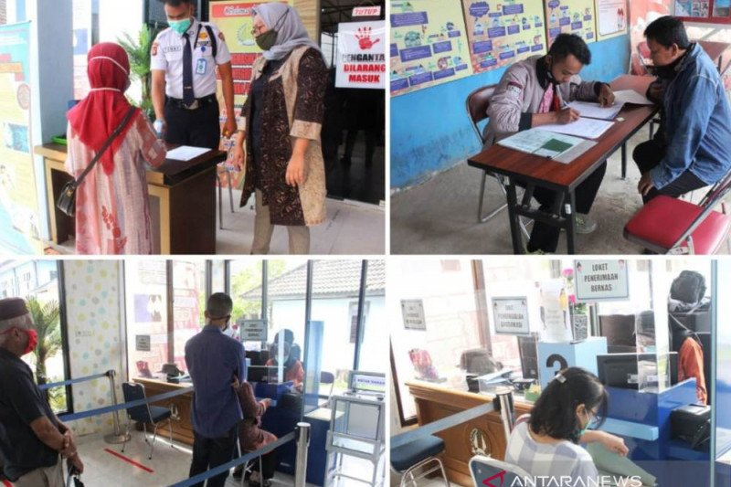 Imigrasi Palembang buka  layanan paspor simpatik hari batik
