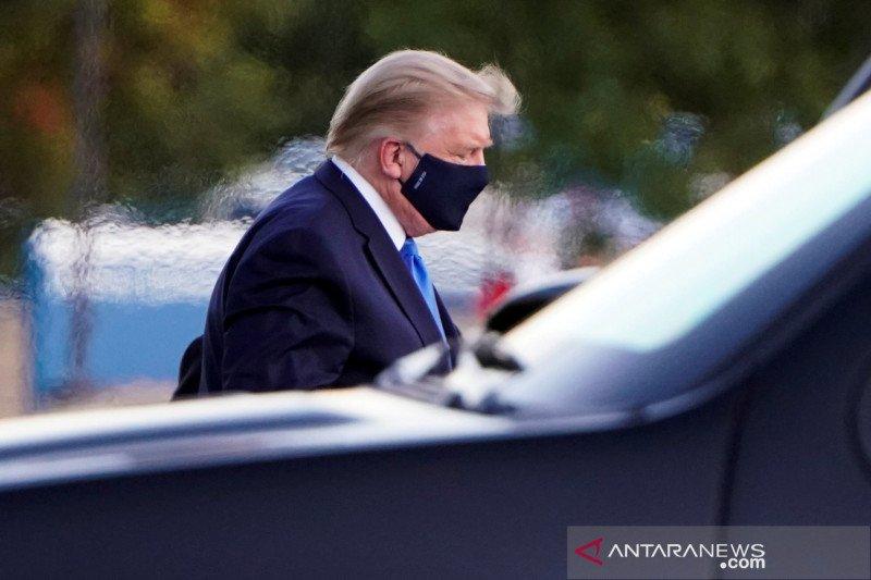 Merasa lebih baik, Trump berharap segera pulih