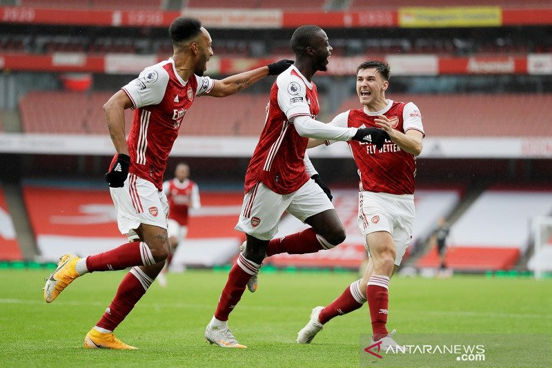 Arsenal mengalahkan Sheffield United 2-1