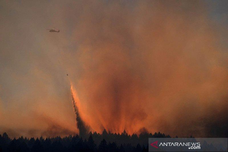 Ancaman kebakaran meningkat di seluruh California