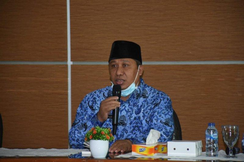Plt Bupati memimpin rakor kebencanaan KLU