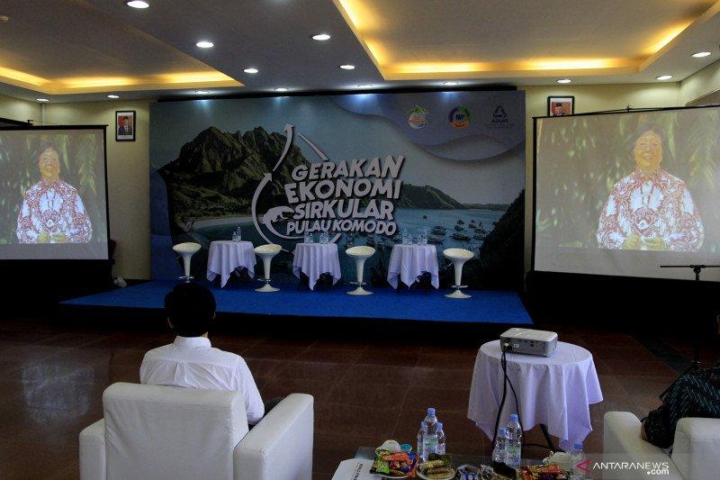 Menteri LHK apresiasi gerakan ekonomi sirkular di Pulau Komodo