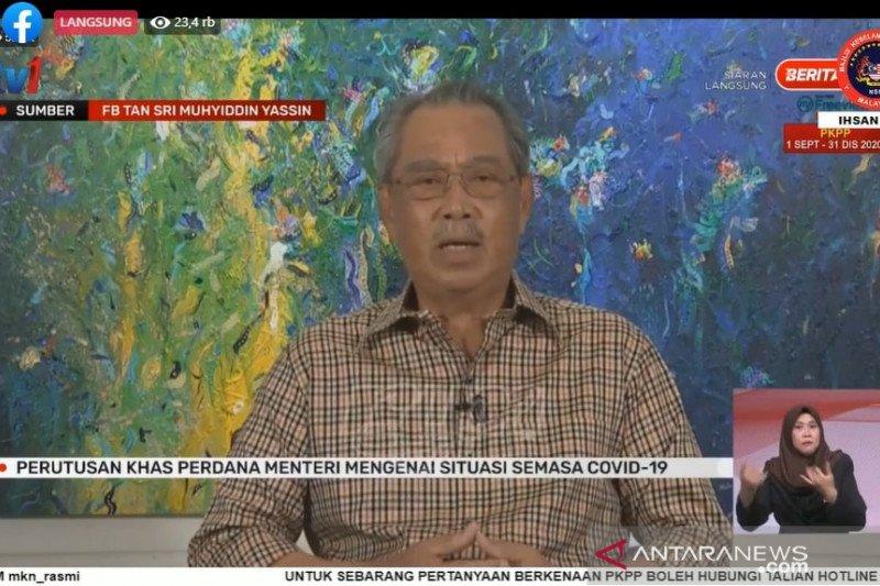 PM Malaysia Muhyiddin tidak diberi gelang karantina
