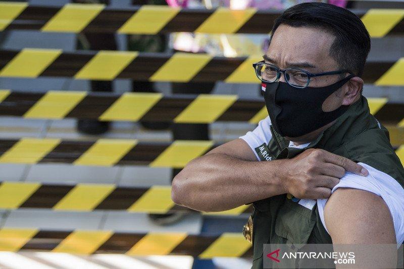 Gubernur Jabar Ridwan Kamil sebut ada dua jenis vaksin COVID-19