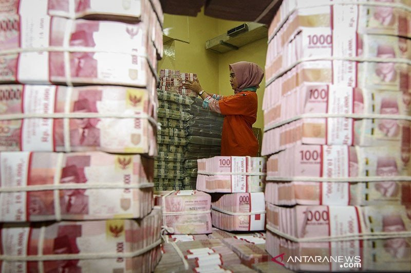 BI catat uang beredar naik pada Oktober jadi Rp6.780,8 triliun