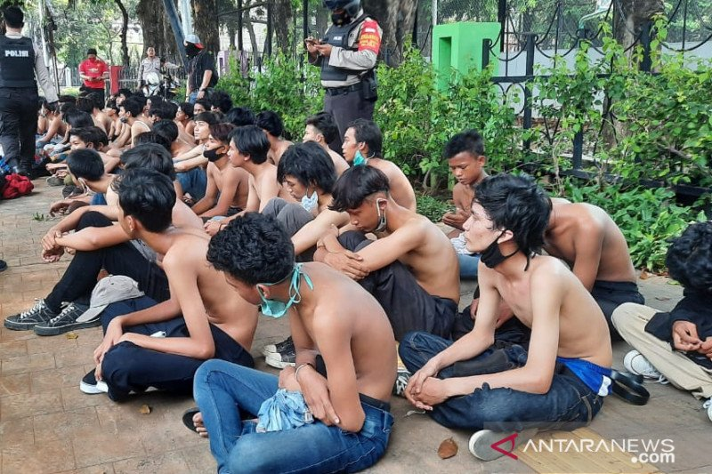 Tiga provokator kericuhan ternyata juga berstatus pelajar