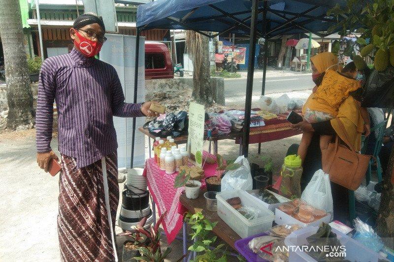 Banguntapan Bantul mengembangkan Pasar Barter COD UMKM