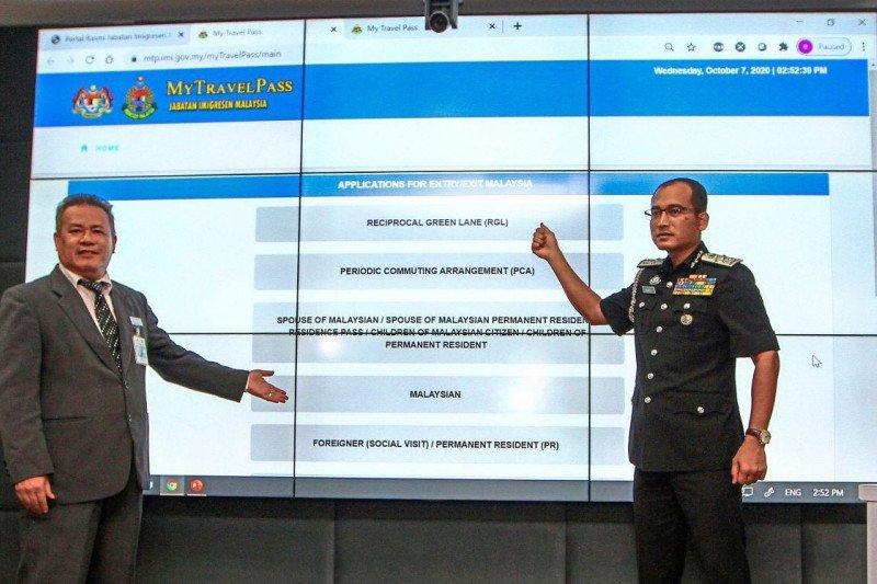 Imigrasi Malaysia luncurkan MyTravelPass untuk masuk dan keluar negara