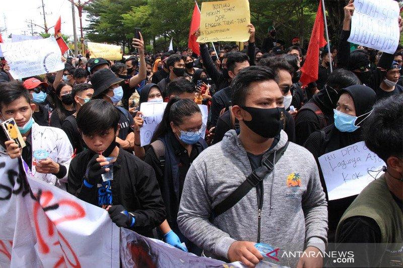 Satgas ingatkan potensi penyebaran COVID-19 saat aksi demonstrasi di Palangka Raya