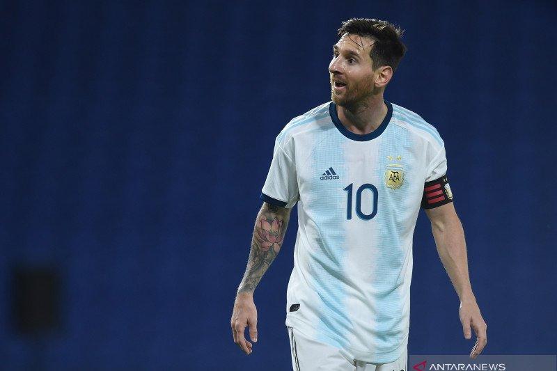 Messi akui timnas Argentina bermain gugup saat kalahkan Ekuador