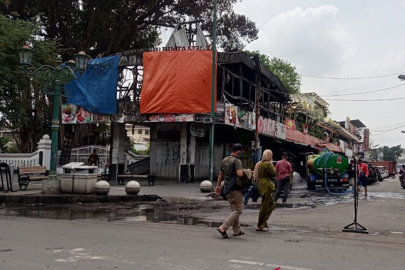 Kawasan Malioboro Yogyakarta dibenahi pascaunjuk rasa berujung rusuh