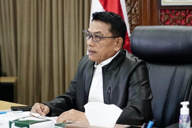 Moeldoko mengatakan UU Cipta Kerja sesuai janji Presiden Jokowi