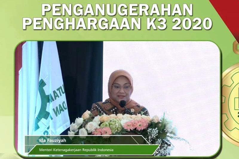 Pertamina Cilacap raih tiga penghargaan K3 Tahun 2020
