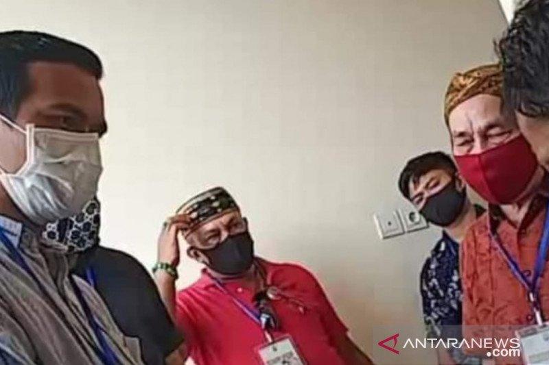 Irwan Sabri jenguk relawan IRAW yang dirawat di RSUD Tarakan