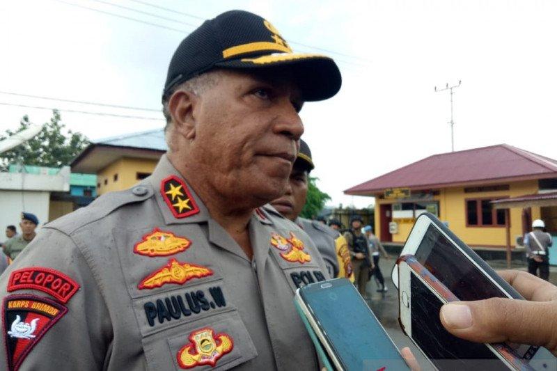 Kapolda Papua akui anggota brimob ditahan diduga terlibat jual beli senjata api