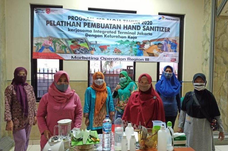 Inovasi ibu-ibu KUBE ALOJA, ciptakan 'hand sanitizer' dari lidah buaya