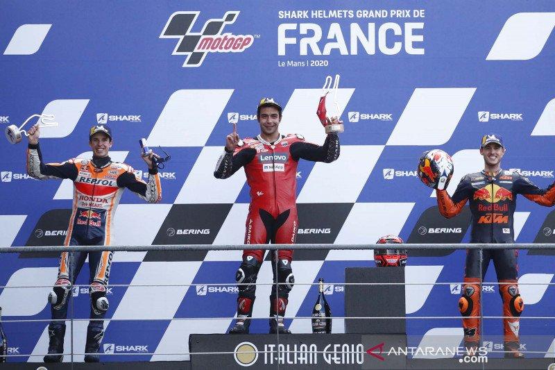 Petrucci bawa Ducati rebut kemenangan pertama di Le Mans