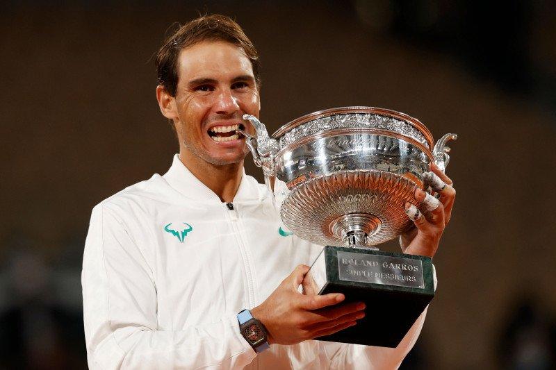 Nadal juarai Prancis Terbuka untuk ke-13 kalinya