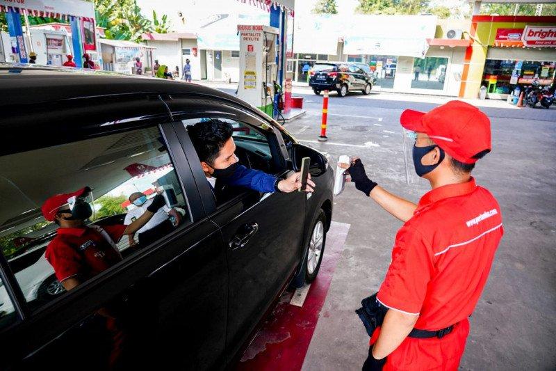 Gubernur Lampung dukung transaksi non tunai di SPBU cegah penularan COVID-19