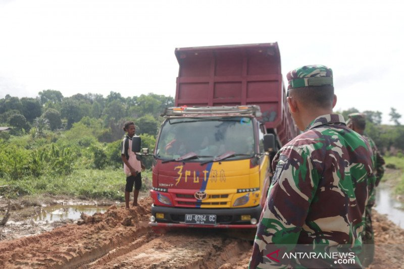 Satgas TMMD terus percepat pembangunan jalan di Tarakan