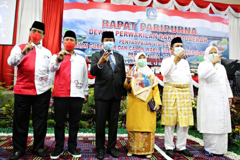 Para kandidat  Pilgub Kepri adu visi dan misi di kantor DPRD