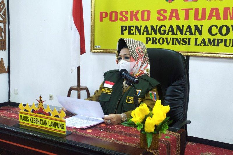 Kasus konfirmasi positif COVID-19 Lampung bertambah 16 kasus, total jadi 1.147 kasus