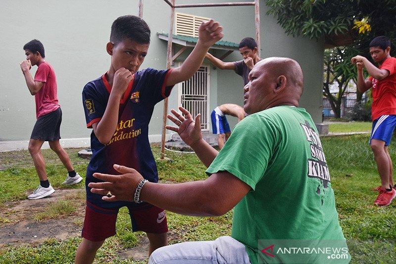 Pembinaan atlet tinju Riau tetap berlangsung saat pandemi COVID-19