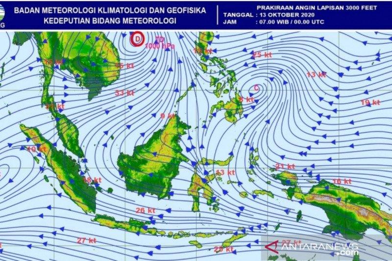 BMKG: 27,5 persen wilayah Indonesia alami hujan di atas normal, berikut daerahnya