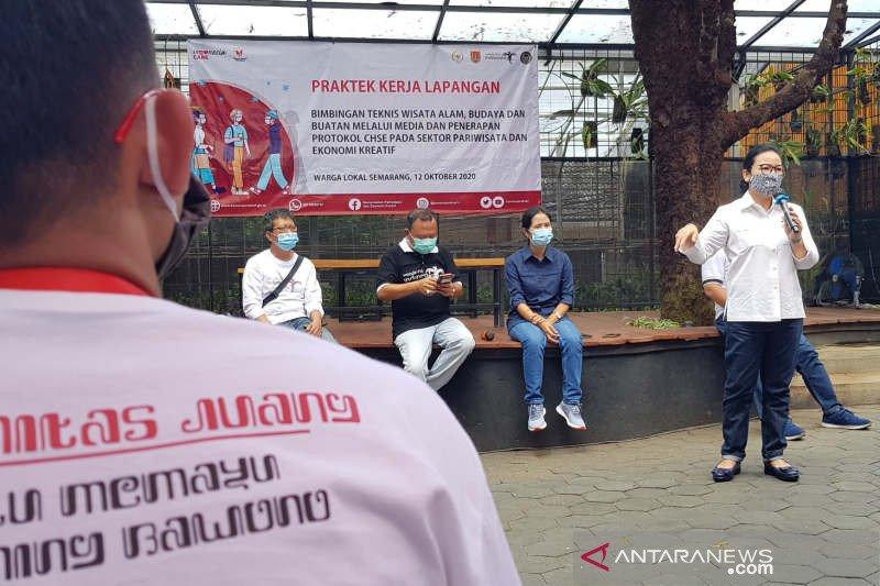 Kemenparekraf latih 300 milenial di Jateng promosi wisata berprotokol kesehatan