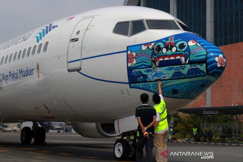 Garuda dinobatkan maskapai penerbangan  protokol kesehatan  terbaik dunia