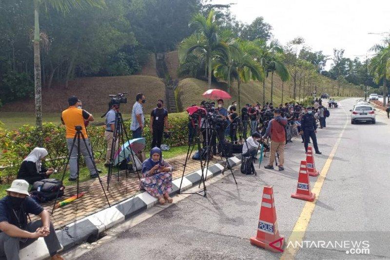 Pemimpin oposisi Malaysia Anwar Ibrahim diterima Raja