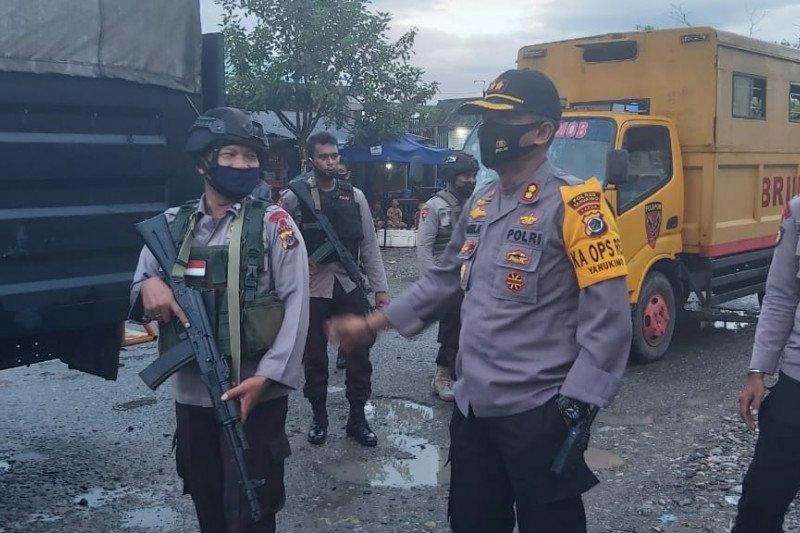 Polres Yahukimo-TNI gelar patroli gabungan tingkatkan keamanan