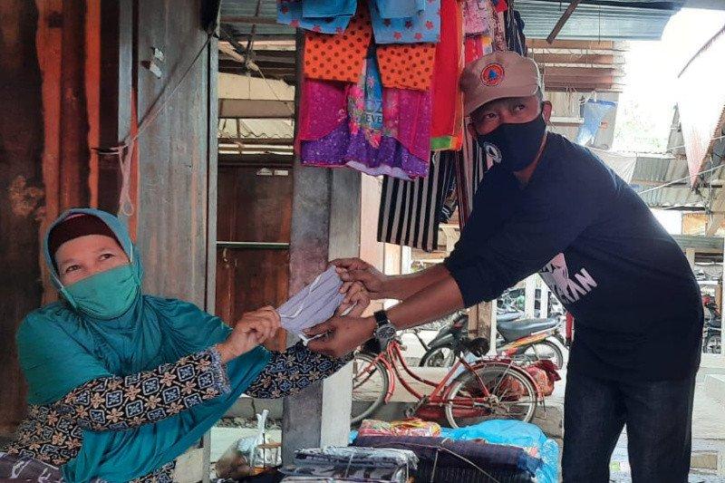 Bantul mengagendakan pembagian masker bantuan BNPB di 13 pasar