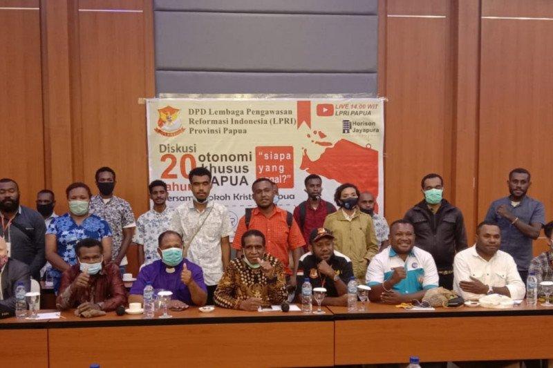 Diskusi Otonomi khusus LPRI lahirkan sejumlah saran dan masukan