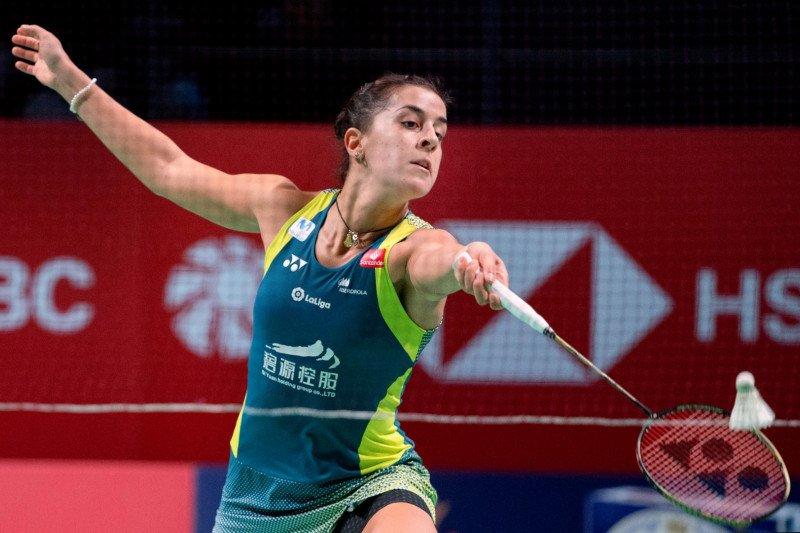 Tunggal putri Spanyol Carolina Marin bekuk Tai Tzu Ying untuk juarai Thailand Open
