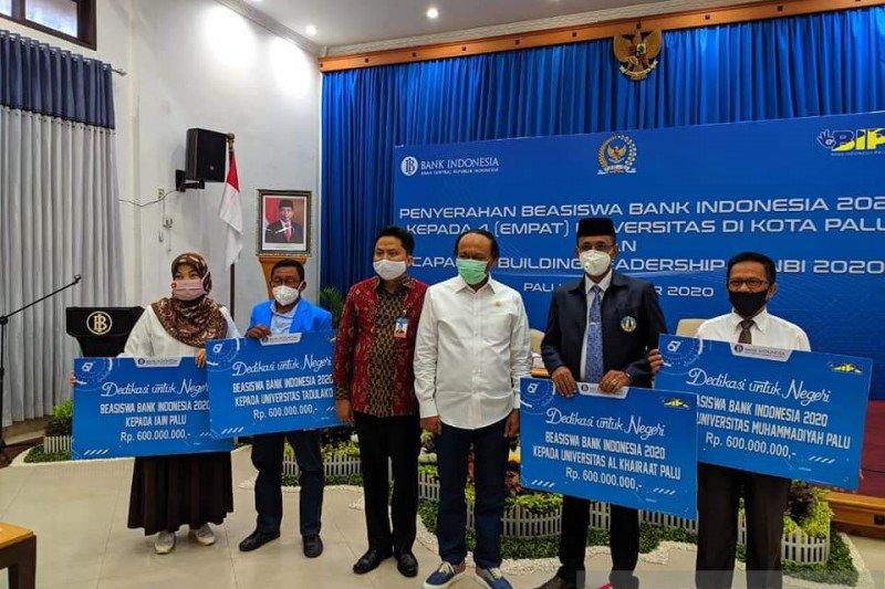 IAIN Palu dapat beasiswa Rp600 juta dari Bank Indonesia