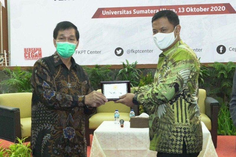 FKPT Sumut-USU bekerja sama cegah terorisme