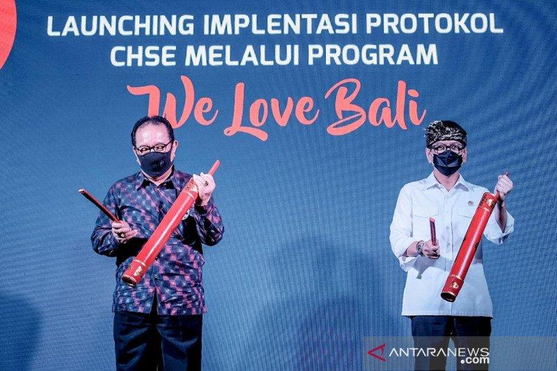 """Menparekraf resmi luncurkan program  """"We Love Bali"""""""