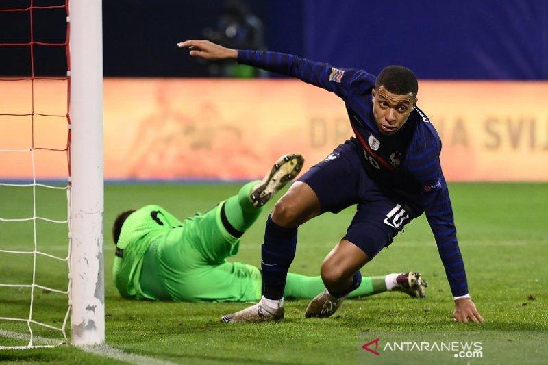 Gol Mbappe pastikan Prancis  menang 2-1 atas Kroasia