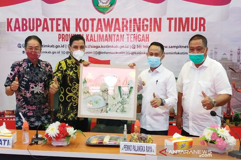 Wali Kota Palangka Raya boyong pejabatnya ke Sampit pelajari pemulihan ekonomi