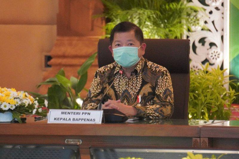 Menteri PPN mengapresiasi Pemda DIY soal tracing kasus COVID-19