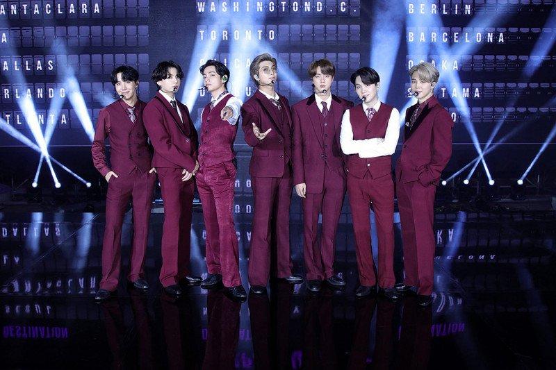 BTS kembali tampil di panggung BIllboard Music Award 2020