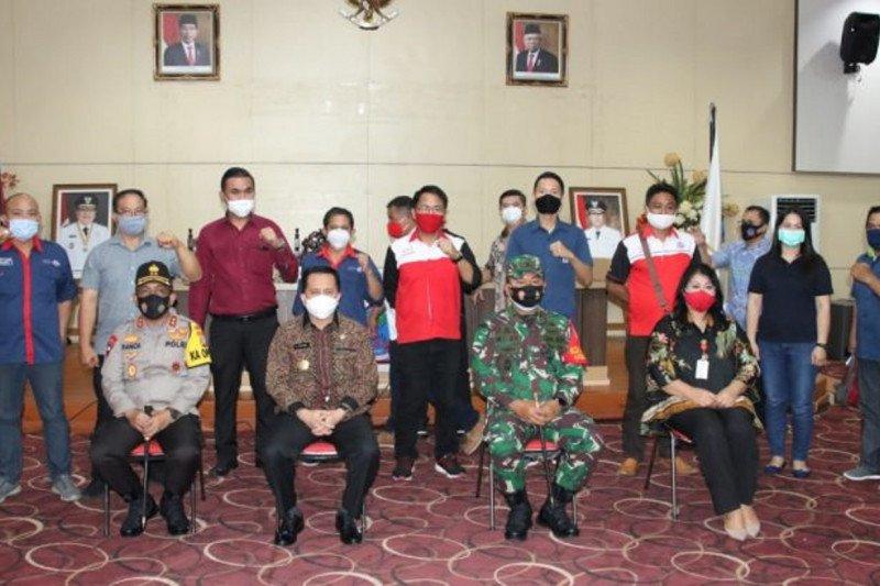 Pemprov Sulawesi Utara berdialog dengan KSBSI bahas UU Cipta Kerja